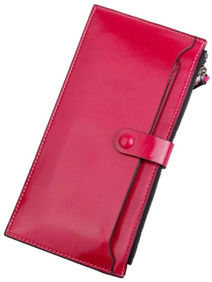 ABC® 1099 ABC® Mens Fashion Leather Zipper Purse Ultra-thin Multifunctional Wallet