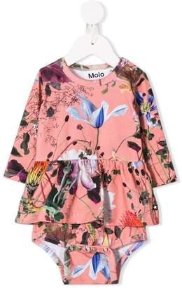 Molo Flowers of the Wild ruffle dress