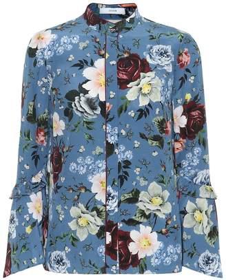 Erdem Alvery silk crepe de chine shirt