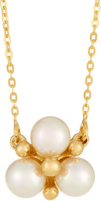 Majorica You & I Manmade Pearl Cluster Pendant Necklace