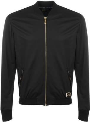 Just Cavalli Cavalli Class Bomber Collar Jacket Black