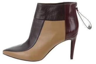 Pierre Hardy Colorblock Pointed-Toe Ankle Boots w/ Tags