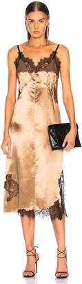 Helmut Lang Lace Slip Dress