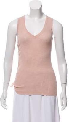 AllSaints Knit V-Neck Top