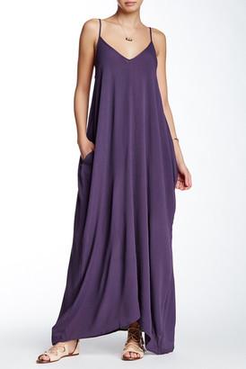 Love Stitch Gauze Maxi Dress $88 thestylecure.com