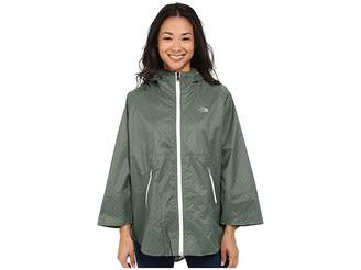 The North Face Mindfully Designed Poncho (Laurel Wreath Green Classic Dot