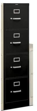 HON H320 Series 4-Drawer Vertical Filing Cabinet HON
