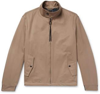 Lanvin Cotton-Twill Blouson Jacket
