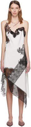 Marques Almeida White Lace Slip Dress
