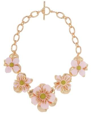 Trina Turk SuperBloom Flower Statement Necklace