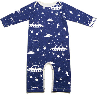 Winter Water Factory Organic Outer Space Romper