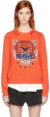 Kenzo Orange Limited Edition Tiger Sweatshirt