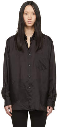 Comme des Garcons Black Wide Fit Lining Shirt