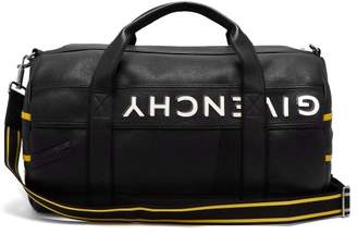 Givenchy Mc3 Leather Duffle Bag - Mens - Black Yellow