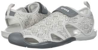 Crocs Swiftwater Graphic Mesh Sandal Women's Shoes