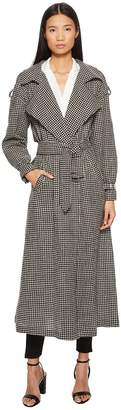 McQ Belted Trench Women's Coat