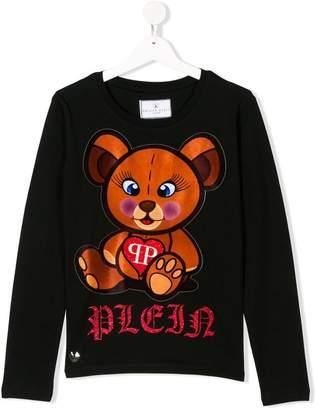 Philipp Plein Junior TEEN Teddy print T-shirt