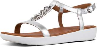 FitFlop Lana Chain Metallic Leather Sandals