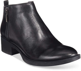 Kenneth Cole New York Women's Levon Zip-Up Ankle Booties Women's Shoes