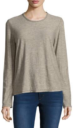 James Perse Heathered-Blend T-Shirt