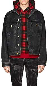 Fear Of God Men's Acid-Washed Denim Jacket - Black