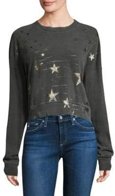 Stateside Foiled Star Pullover