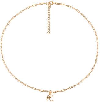 joolz by Martha Calvo R Initial Necklace