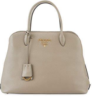 Prada Daino Leather Tote Bag