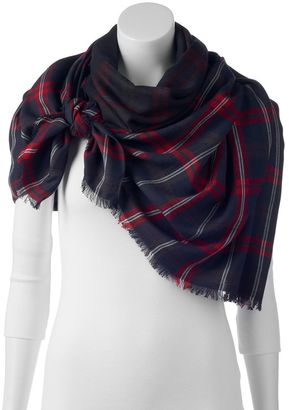 Woolrich Plaid Blanket Wrap $49 thestylecure.com