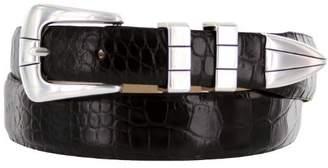 Vince Belts Italian Calfskin Leather Designer Golf Dress Belt for Men