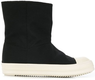 Rick Owens pull-on ankle boots