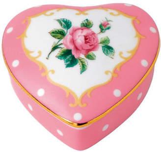 Royal Albert NEW Cheeky Pink Heart Trinket Box
