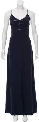 Narciso Rodriguez Silk Cutout Gown