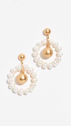 Madewell Agnes Pearl Earrings