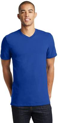 District Threads DT5500 - Young Mens Concert V-Neck Tee - M