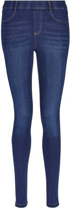 Dorothy Perkins Womens Indigo Authentic Premium 'Eden' Super Soft Jeggings