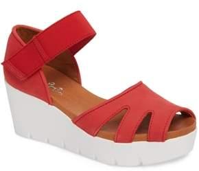 Bos. & Co. Sharon Platform Wedge Sandal