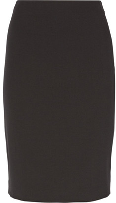 Theory - Stretch-wool Pencil Skirt - Black $215 thestylecure.com