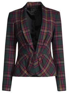 Trina Turk Plaid Canopy Jacket