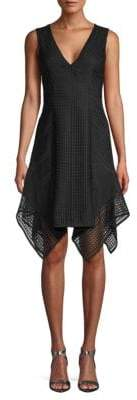 Derek Lam 10 Crosby Lace Sleeveless Shift Dress