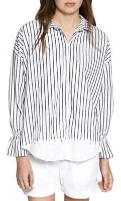 Sanctuary Hazel Boy Cotton Button-Down Shirt