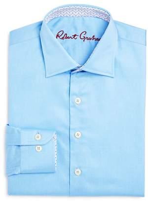 Robert Graham Boys' Solid Dress Shirt - Big Kid