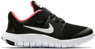 Next Girls Nike Run Black/Pink Flex Contact