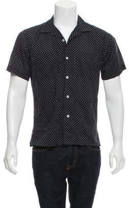 Engineered Garments Polka Dot Short Sleeve Shirt