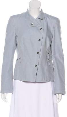 Akris Punto Structured Zip-Up Jacket