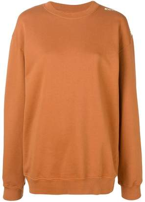 Eckhaus Latta oversized sweater