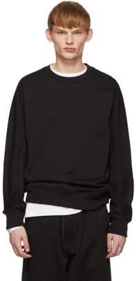 Y-3 Y 3 Black Classic Crewneck Sweatshirt
