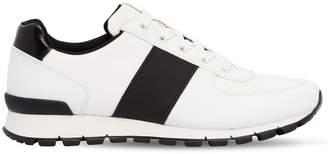 Prada Match Race Cordura & Leather Sneakers