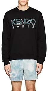 Kenzo Men's Logo-Appliquéd Cotton Sweatshirt - Black