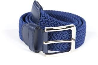 BoutiqueLisa Mens Solid Color Woven Stretch Belt